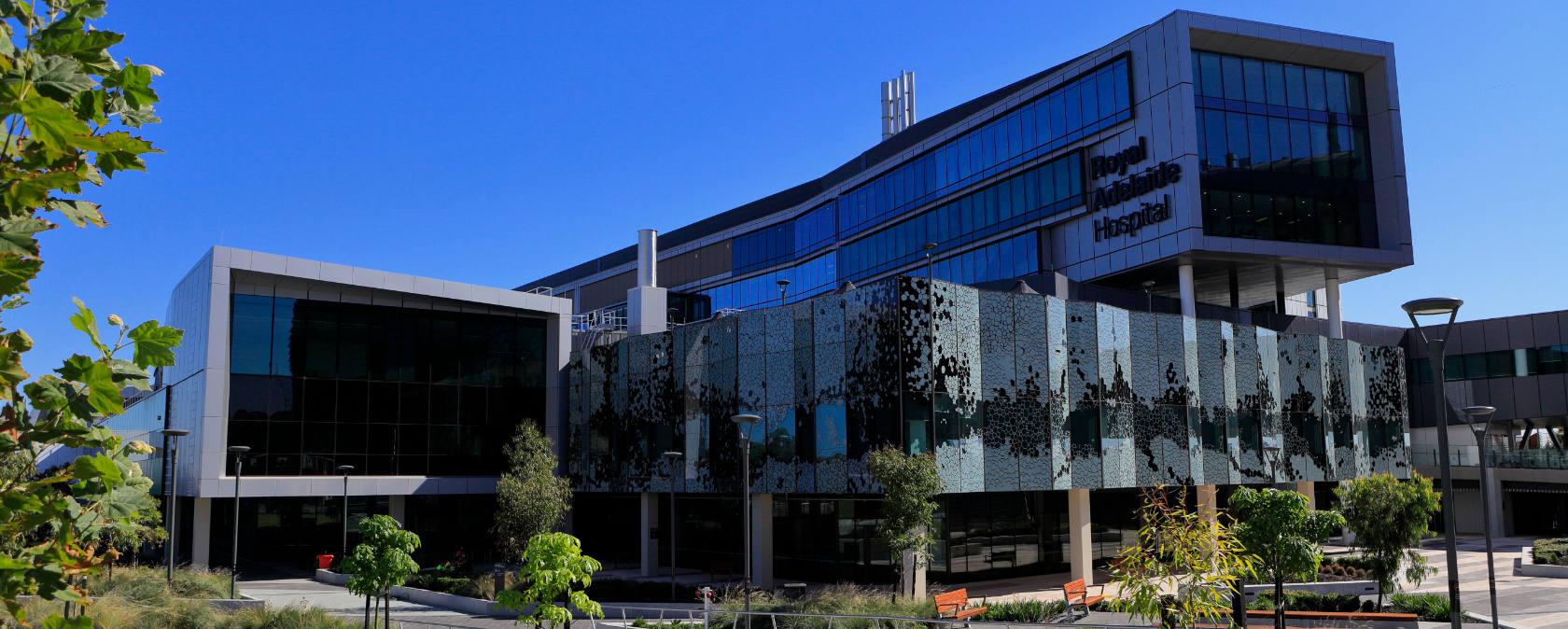 New Royal Adelaide Hospital building